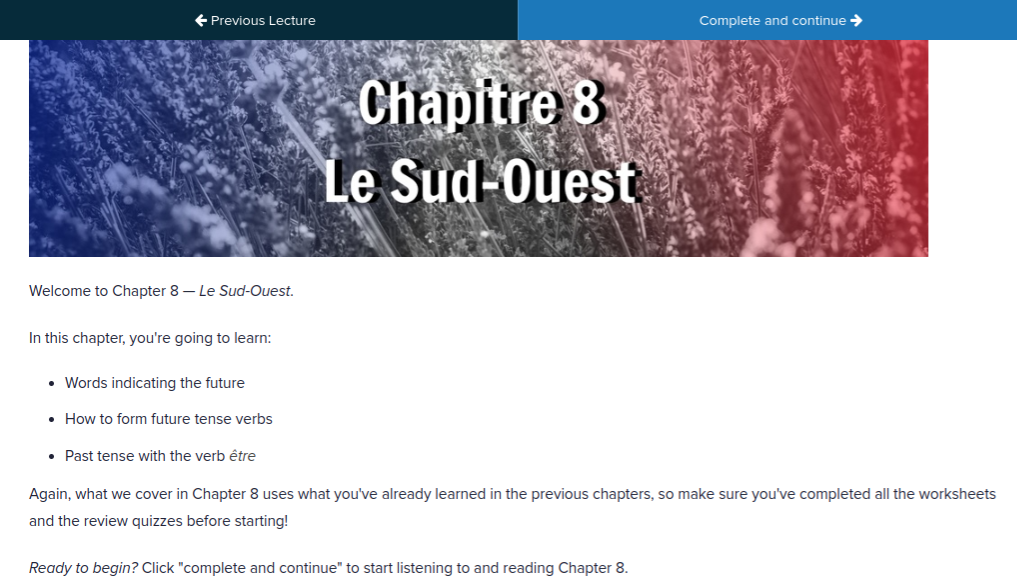 French uncovered chapter 8