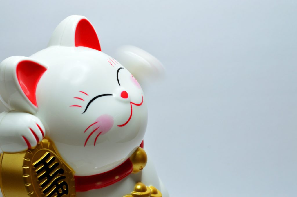 chinese cat smile