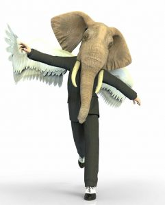 Elephant With Wings