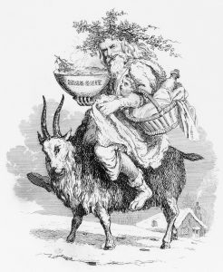 father-christmas-riding-a-yule-goat