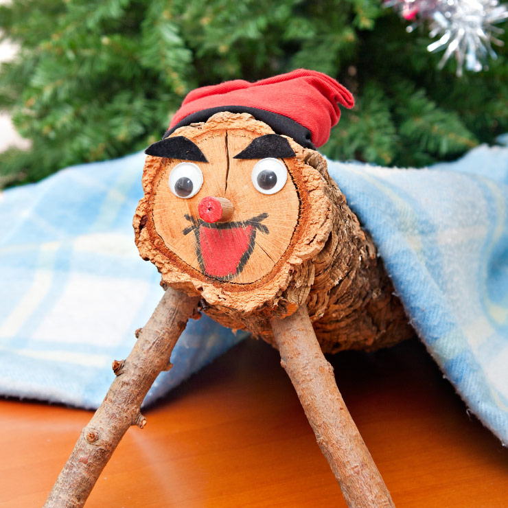 The pooping Christmas log of Catalonia. It poops presents. True story.