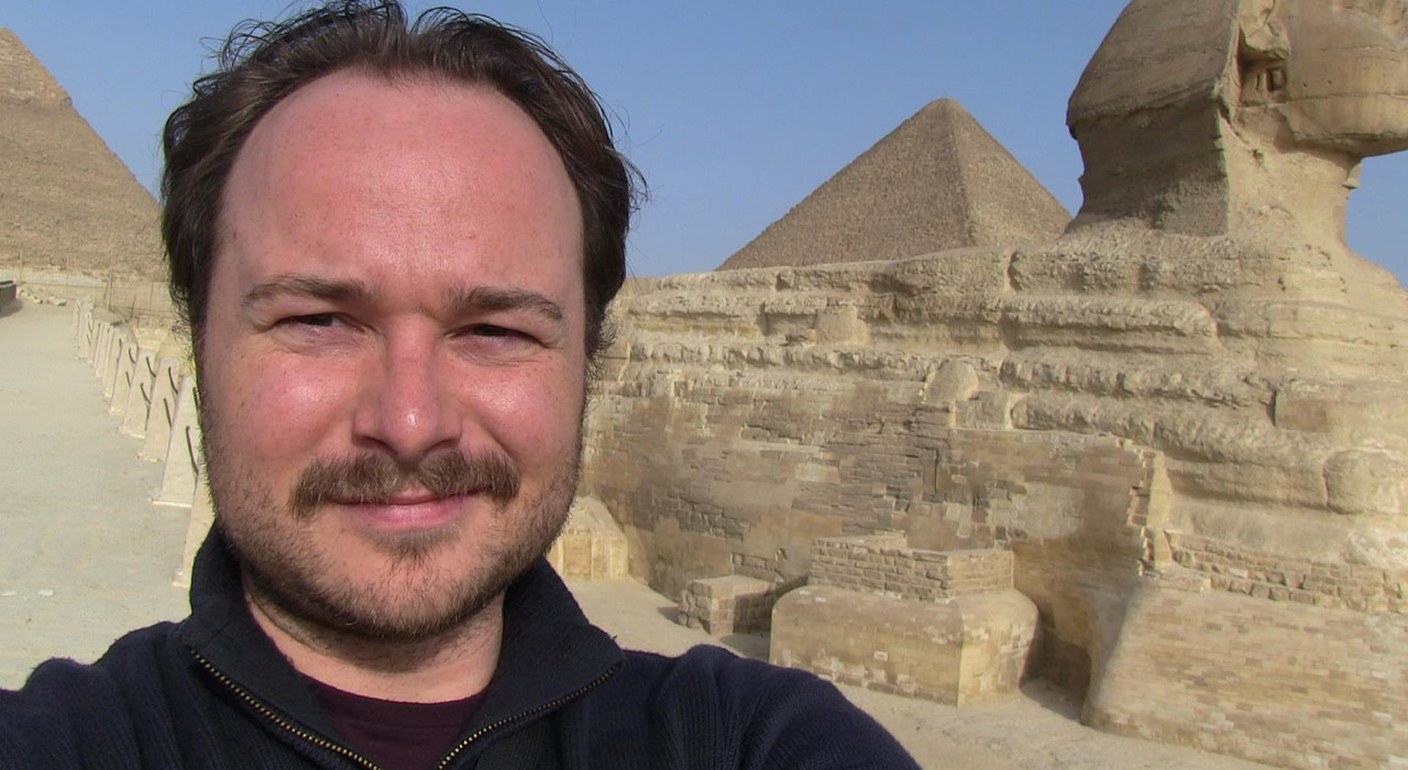 Climbing Mount Moses, seeing camels, the burning bush and the pyramids of Giza before leaving Egypt