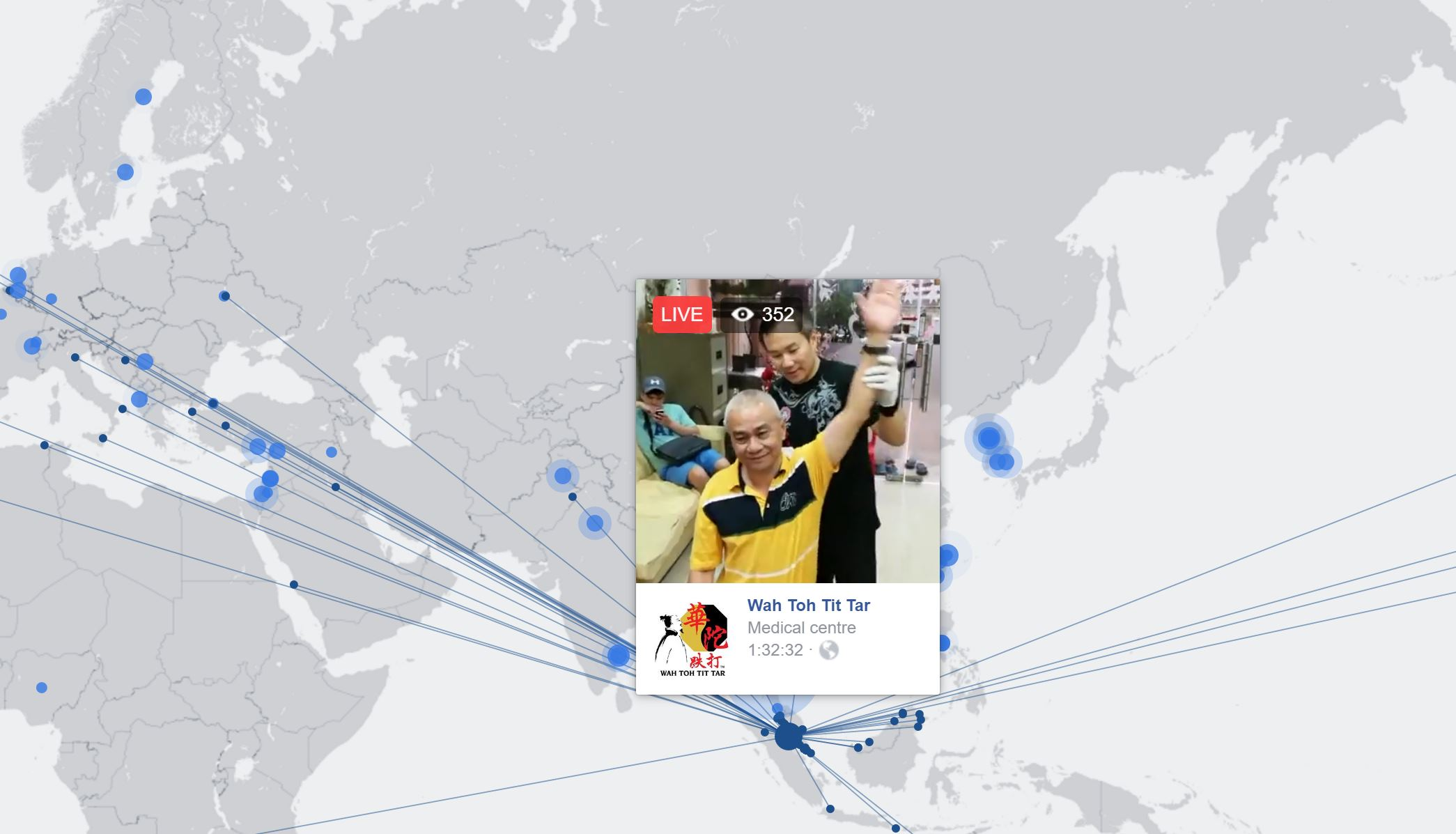Example Facebook Live Video