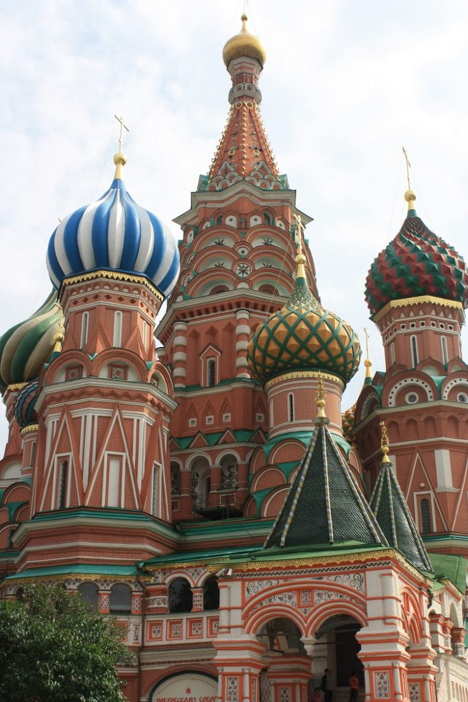 Learn Russian to visit Saint Basil's Cathedral.