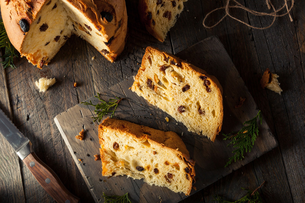 Say Merry Christmas in Italian with a Panettone