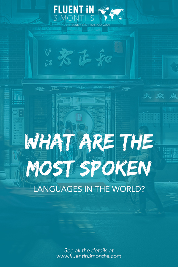 What are the Most Spoken Languages in the World?